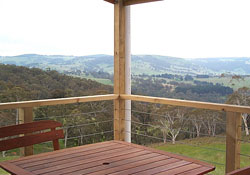 Self contained cottages with magnificent views
